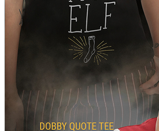 Dobby Qoute Tee