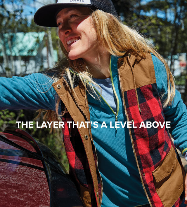 THE LAYER THAT'S A LEVEL ABOVE