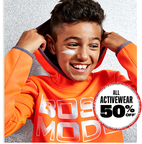 All Activewear 50% Off