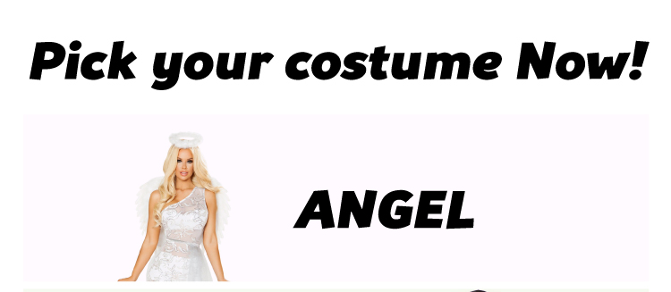 Angel Sexy Costumes Shop Now!