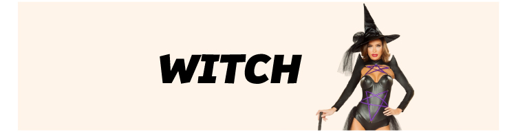 Witch  Sexy Costumes Shop Now!