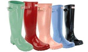 Hunter Women's Original Tall Gloss or Tall Rain Boots (Sizes 5 & 6)