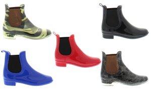 Shoes of Soul Women's Chelsea Rain Boots