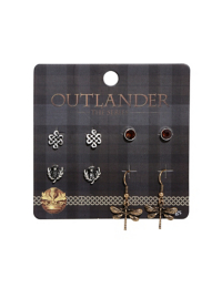 Outlander Symbol Earring Set