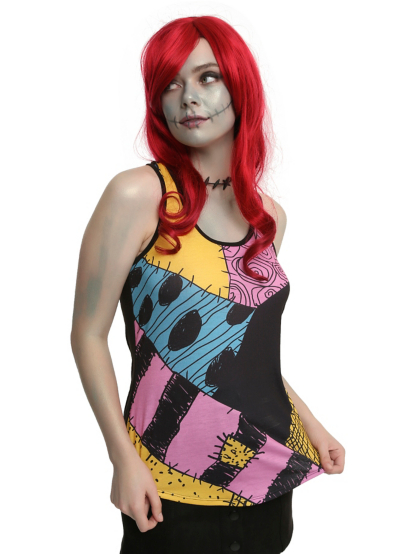 The Nightmare Before Christmas Sally Cosplay Tank Top