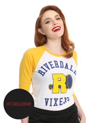 Riverdale Vixens Girls Raglan HT Exclusive