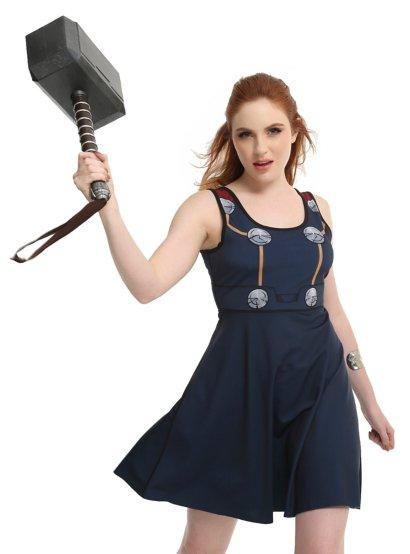 Loki & Thor Reversible Costume Dress