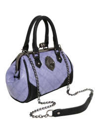 The Nightmare Before Christmas Quilted Satchel Bag