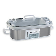 Crock-Pot® Programmable Casserole Slow Cooker