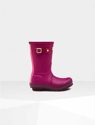 ORIGINAL KIDS CONTRAST SOLE RAIN BOOTS