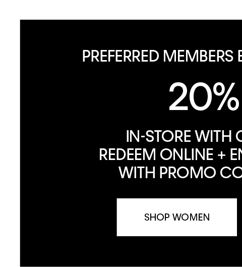 Shop Now (Preferred Online) WOMEN