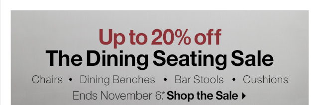 The Dining Seating Sale