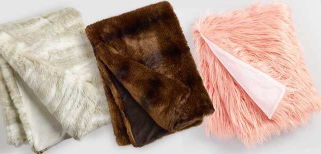Save 50% All Faux Fur Throws ›