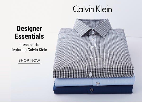 Designer Essentials - dress shirts, featuring Calvin Klein. Shop Now.
