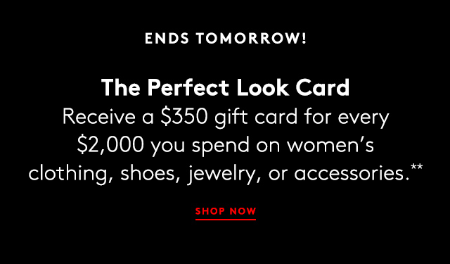 Shop clothing, shoes, handbags, and more.