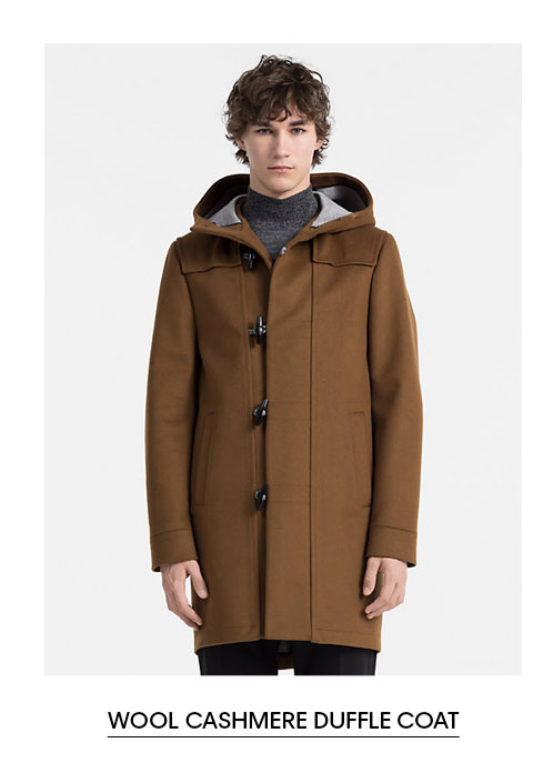 Wool Cahsmere Duffle Coat