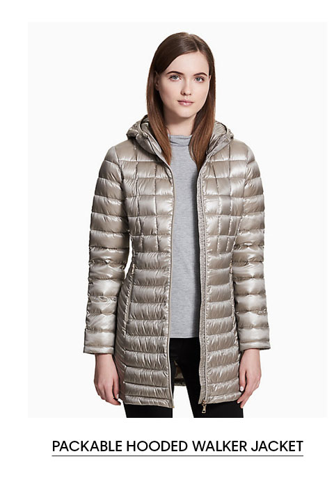 Packable Hooded Walker Jacket