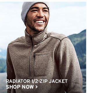 MEN'S RADIATOR 1/2-ZIP JACKET | SHOP NOW