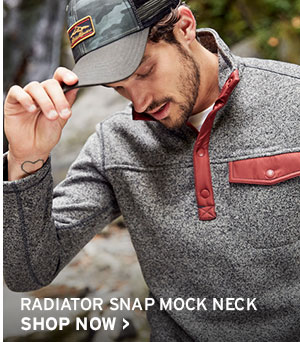 MEN'S RADIATOR SNAP MOCK NECK | SHOP NOW