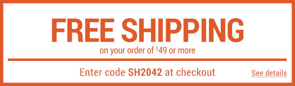 Sportsman's Guide's Free Standard Shipping on Your Merchandise order of $49 or More! Enter coupon code SH2042 at check-out. *Exclusions apply, see details.