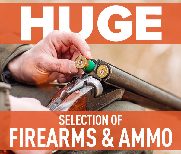 Huge Selection of Firearms & Ammo