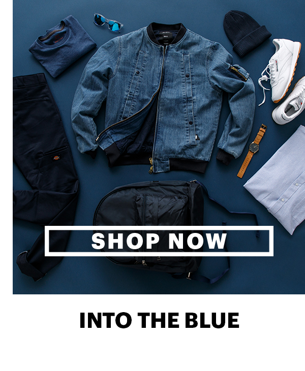 Shop Now | Into the Blue