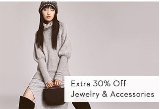 Extra 30% Off Jewelry & Accessories