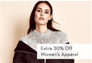 Extra 30% Off Women's Apparel