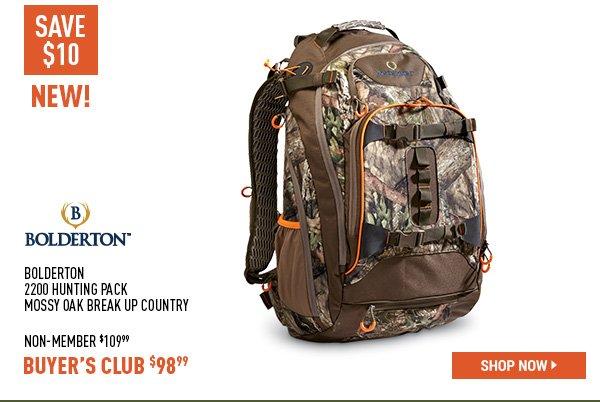 Bolderton 2200 hunting Pack Mossy Oak Break Up Country