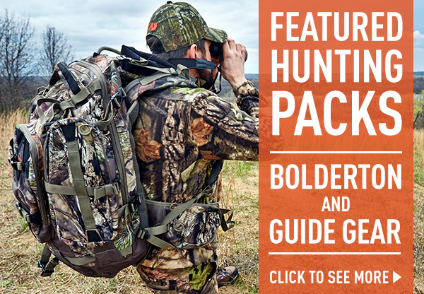 Featured Hunting Packs... Bolderton and Guide Gear