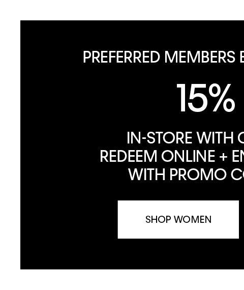 Shop Now (Preferred Online) WOMEN