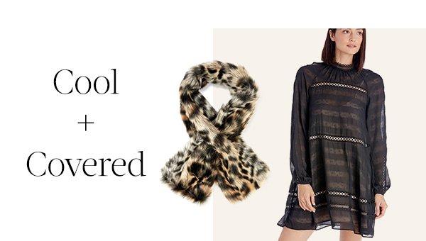 Shop Leopard Faux Fur Stole