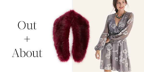 Shop Large Faux Fur Stole