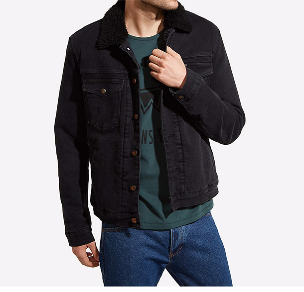 Sherpa-Lined Jacket