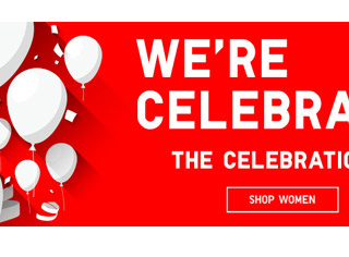 WE'RE CELEBRATING U - SHOP WOMEN