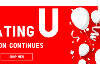 WE'RE CELEBRATING U - SHOP MEN