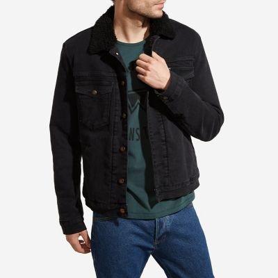 Men's Wrangler® Born Ready Sherpa Lined Denim Jacket