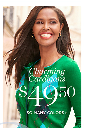 Charming Cardigans $49.50. So Many Colors