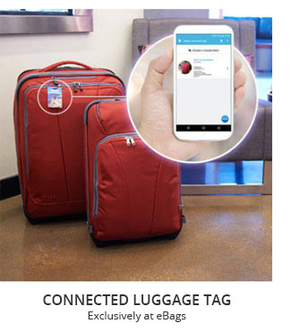 Connected Luggage Tag   Exclusively at eBags