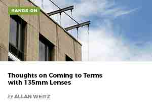Thoughts on Coming to Terms with 135mm Lenses by Allan weitz
