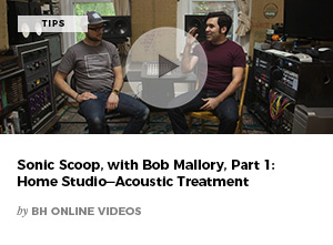 Sonic Scoop with Bob Mallory, Part 1: Home Studio-Acoustic Treatment by BH Online Videos