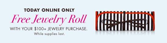 Free Jewelry Roll