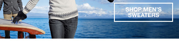 SAVE BIG ON FALL ESSENTIALS | SHOP MEN'S SWEATERS