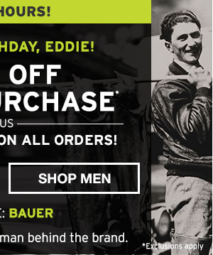 EDDIE'S BIRTHDAY 40% OFF PURCHASE | SHOP MEN