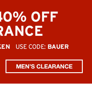 EXTRA 40% CLEARANCE| SHOP MEN