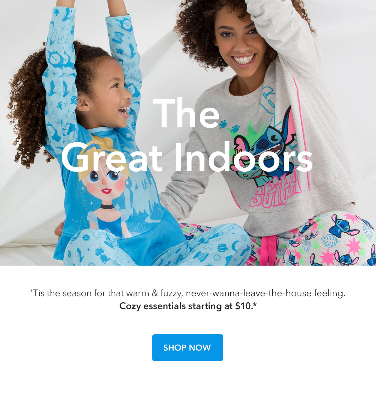 The Great Indoors | 'Tis the season for that warm and fuzzy, never-wanna-leave-the-house feeling.  Cozy essentials starting at $10.  | Shop Now