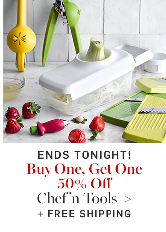 Buy One, Get One 50% Off Chef'n Tools* + FREE SHIPPING