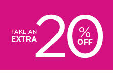 take an extra 20% off using promo code YES2SAVING. shop now.