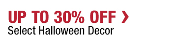 Up to 30% Off Select Halloween Decor