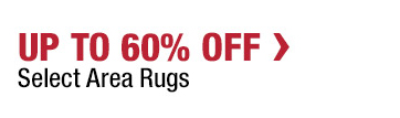 Up to 60% Off Select Area Rugs